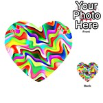 Irritation Colorful Dream Playing Cards 54 (Heart)  Front - Diamond3