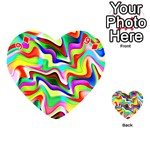 Irritation Colorful Dream Playing Cards 54 (Heart)  Front - Diamond9