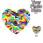 Irritation Colorful Dream Playing Cards 54 (Heart)  Front - Club8