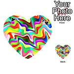 Irritation Colorful Dream Playing Cards 54 (Heart)  Front - Club9