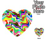 Irritation Colorful Dream Playing Cards 54 (Heart)  Front - ClubK