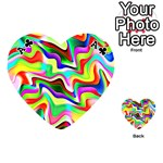 Irritation Colorful Dream Playing Cards 54 (Heart)  Front - ClubA