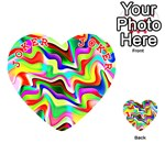 Irritation Colorful Dream Playing Cards 54 (Heart)  Front - Joker2