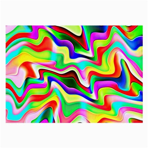 Irritation Colorful Dream Large Glasses Cloth (2-Side)