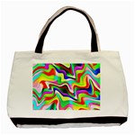 Irritation Colorful Dream Basic Tote Bag (Two Sides) Back