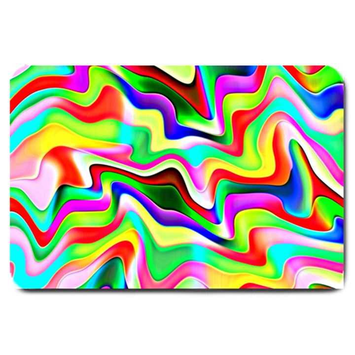 Irritation Colorful Dream Large Doormat