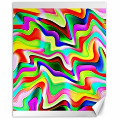 Irritation Colorful Dream Canvas 11  X 14