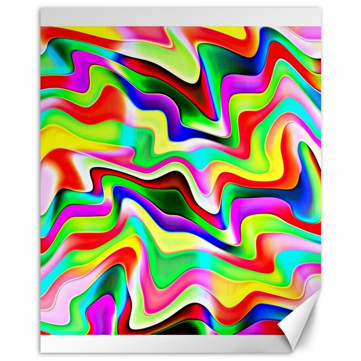 Irritation Colorful Dream Canvas 11  x 14