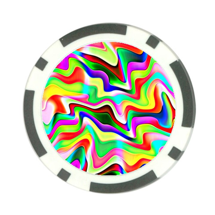 Irritation Colorful Dream Poker Chip Card Guards