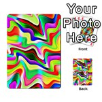 Irritation Colorful Dream Multi-purpose Cards (Rectangle)  Back 44