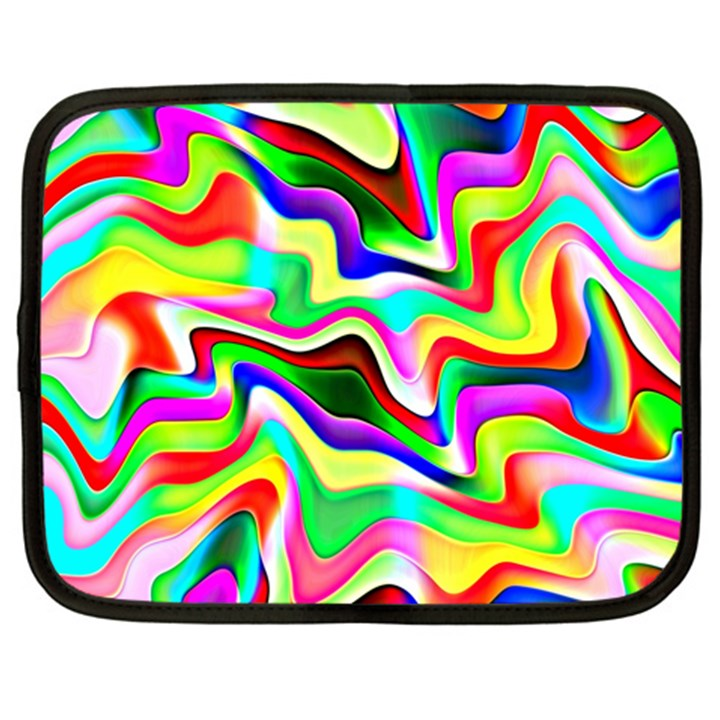 Irritation Colorful Dream Netbook Case (Large)