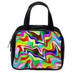 Irritation Colorful Dream Classic Handbags (One Side) Front