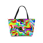Irritation Colorful Dream Shoulder Handbags Back