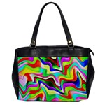 Irritation Colorful Dream Office Handbags Front