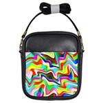 Irritation Colorful Dream Girls Sling Bags Front