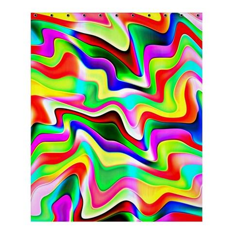 Irritation Colorful Dream Shower Curtain 60  x 72  (Medium)