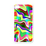 Irritation Colorful Dream Apple iPhone 4 Case (White) Front
