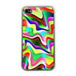 Irritation Colorful Dream Apple iPhone 4 Case (Clear) Front