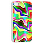 Irritation Colorful Dream Apple iPhone 4/4s Seamless Case (White) Front