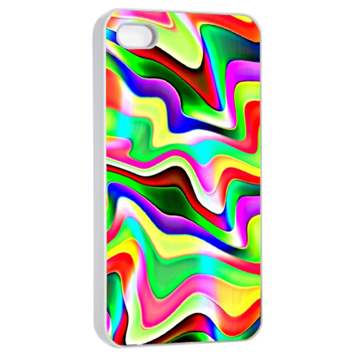 Irritation Colorful Dream Apple iPhone 4/4s Seamless Case (White)