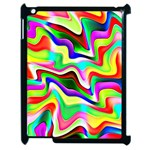 Irritation Colorful Dream Apple iPad 2 Case (Black) Front