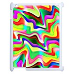 Irritation Colorful Dream Apple iPad 2 Case (White) Front