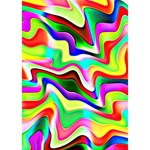 Irritation Colorful Dream TAKE CARE 3D Greeting Card (7x5) Inside