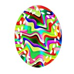 Irritation Colorful Dream Ornament (Oval Filigree)  Front