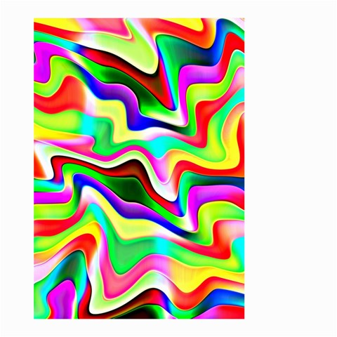 Irritation Colorful Dream Large Garden Flag (Two Sides)