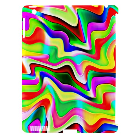 Irritation Colorful Dream Apple iPad 3/4 Hardshell Case (Compatible with Smart Cover)