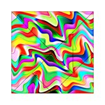 Irritation Colorful Dream Acrylic Tangram Puzzle (6  x 6 ) Front