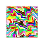 Irritation Colorful Dream Acrylic Tangram Puzzle (4  x 4 ) Front