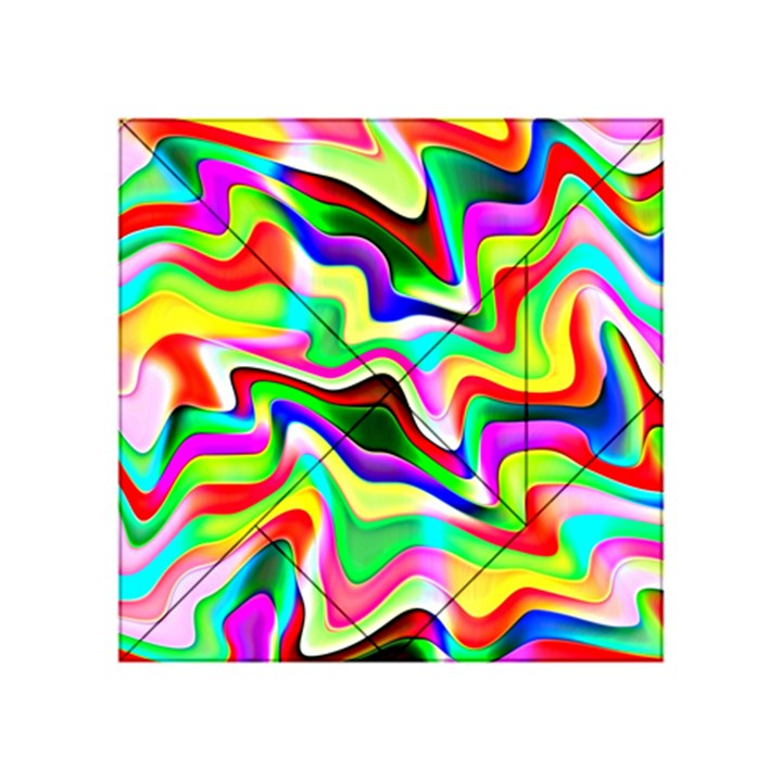 Irritation Colorful Dream Acrylic Tangram Puzzle (4  x 4 )