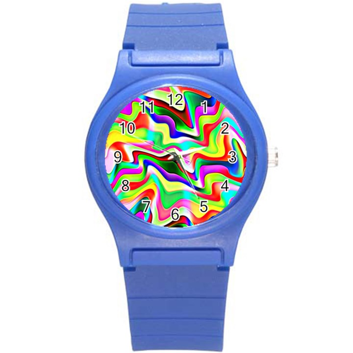 Irritation Colorful Dream Round Plastic Sport Watch (S)