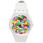 Irritation Colorful Dream Round Plastic Sport Watch (M) Front