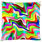 Irritation Colorful Dream Large Cushion Case (Two Sides) Back
