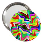 Irritation Colorful Dream 3  Handbag Mirrors Front