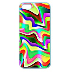 Irritation Colorful Dream Apple Seamless iPhone 5 Case (Color)