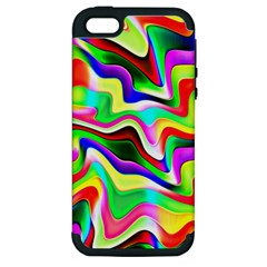Irritation Colorful Dream Apple iPhone 5 Hardshell Case (PC+Silicone)