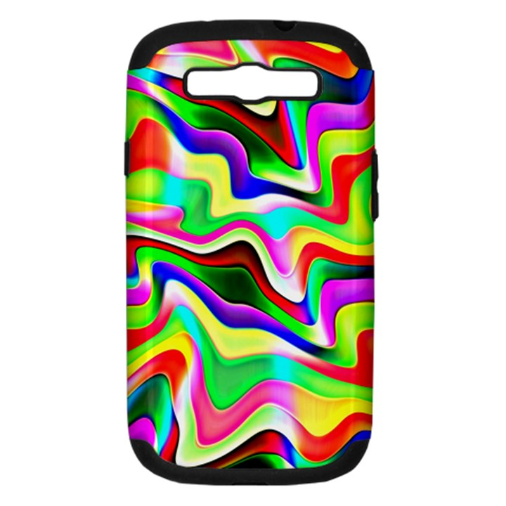 Irritation Colorful Dream Samsung Galaxy S III Hardshell Case (PC+Silicone)