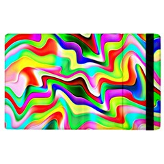 Irritation Colorful Dream Apple iPad 2 Flip Case