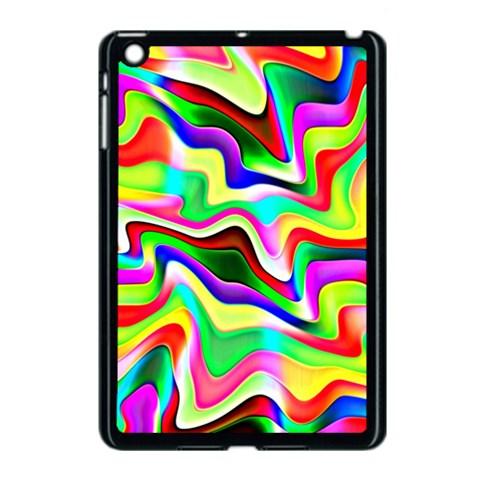 Irritation Colorful Dream Apple iPad Mini Case (Black)