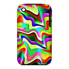 Irritation Colorful Dream Apple Iphone 3g/3gs Hardshell Case (pc+silicone)