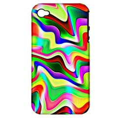 Irritation Colorful Dream Apple Iphone 4/4s Hardshell Case (pc+silicone)