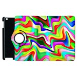 Irritation Colorful Dream Apple iPad 3/4 Flip 360 Case Front
