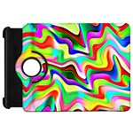 Irritation Colorful Dream Kindle Fire HD Flip 360 Case Front
