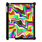Irritation Colorful Dream Apple iPad 3/4 Case (Black) Front