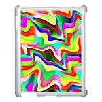 Irritation Colorful Dream Apple iPad 3/4 Case (White) Front