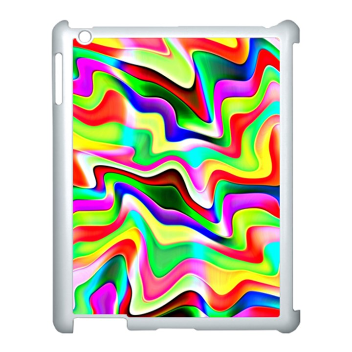 Irritation Colorful Dream Apple iPad 3/4 Case (White)