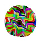 Irritation Colorful Dream Standard 15  Premium Round Cushions Front